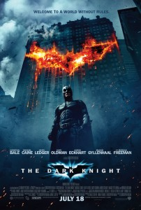Poster for the movie The Dark Knight
